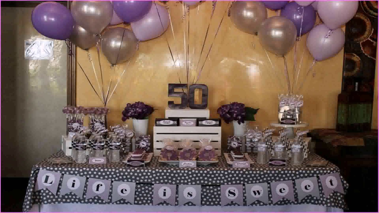 Diy Party Decorations For Th Birthday YouTube - Table decoration ideas for 18th birthday