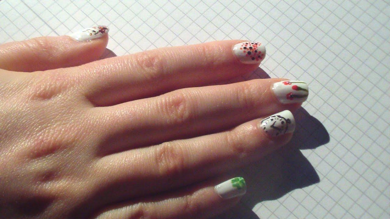 Bemerkenswert Fingernägel Motive Referenz Von Für Jeden Nagel - Nails