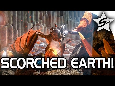 "ARK: SCORCHED EARTH Gameplay Part 1 - ""HUGE EXPANSION PACK, HOW TO SURVIVE & THRIVE!"" (ARK DLC)"