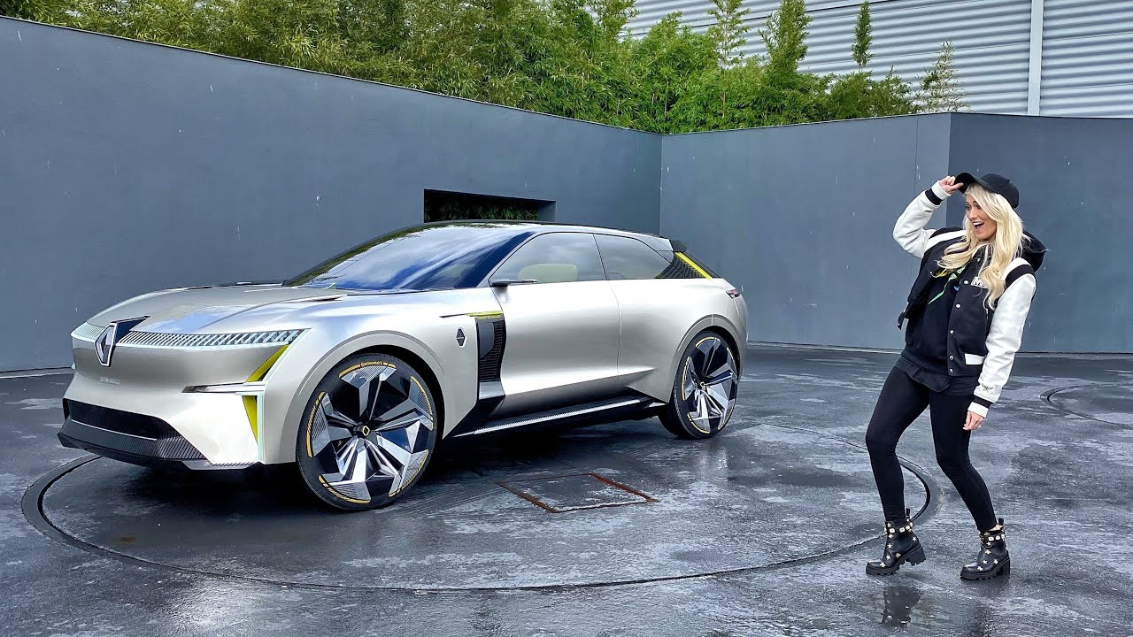 Download This SUV transforms! Renault Morphoz