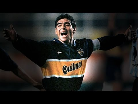 best website cfb98 5bf2c Maradona - Boca Juniors - Top 6 Goals