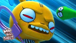 좀비 카툰 : 장난감 박스 놀이 - Mad Box Zo…