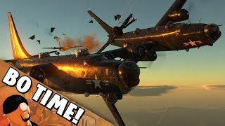 "War Thunder - PB4Y-2 Privateer ""Where Did My Tail Go?"""