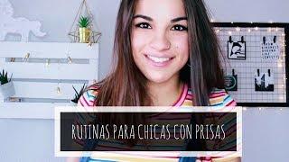 RUTINAS PARA CHICAS CON PRISAS | JARA