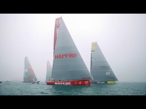 Leg 3 Start Replay | Volvo Ocean Race 2014-15