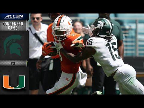 Michigan State vs. Miami Condensed Game | 2021 ACC Football