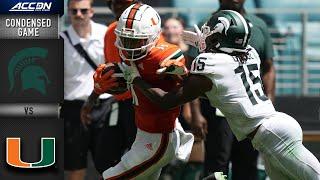 Michigan State vs. Miami Condensed Game   2021 ACC Football