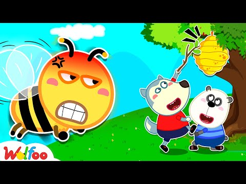 Wolfoo Learn about Bees - Kids Safety Tips | Wolfoo Family Kids Cartoon