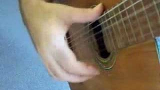 Flamenco guitar lesson - 3 stroke rasgueado - ami