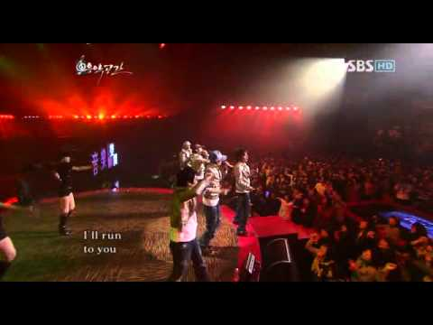 Big Bang – Run to you (DJ DOC) – 20071218 SBS Music Space