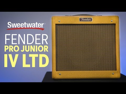 Fender Pro Junior IV LTD Tube Amplifier Review