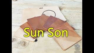 """Apple pig leather """"Sun Son"""""""