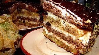 """торт """"Сметанник"""" рецепт, просто и вкусно!"""