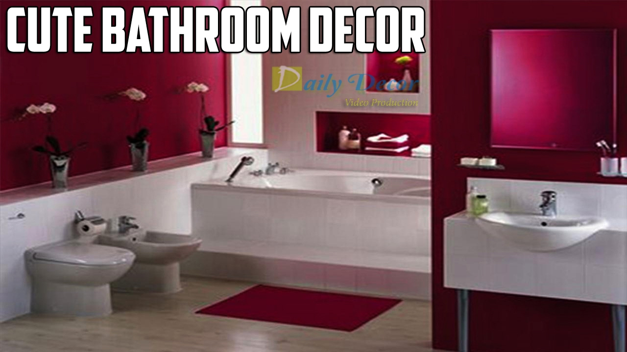 Cute bathroom decorations -  Daily Decor Cute Bathroom Decor