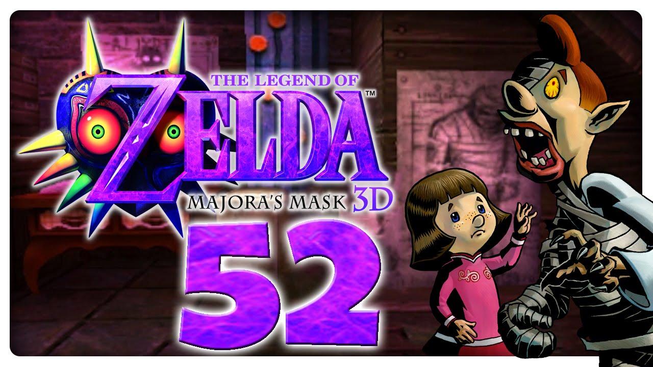 Lets Play THE LEGEND OF ZELDA MAJORAS MASK 3D Part 52 Pamela und