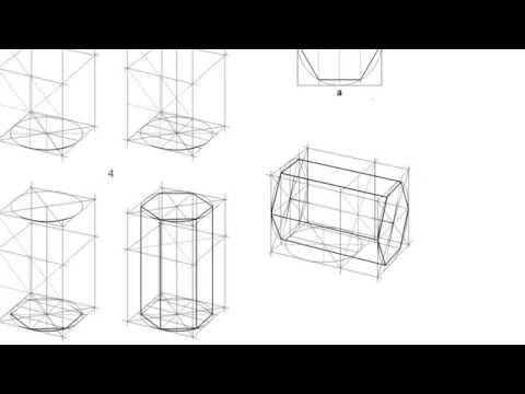 Как нарисовать шестигранную призму?