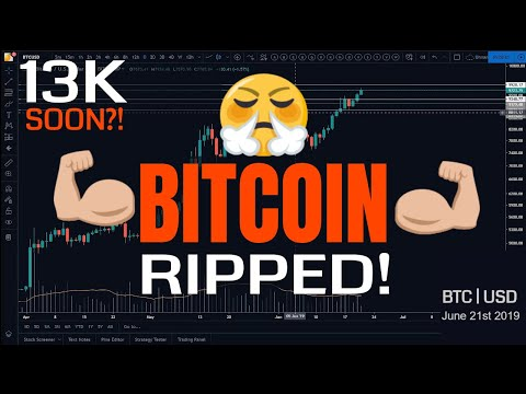13K Bitcoin Next?! Or BTC Correction Due? | Price Analysis | June 21st 2019