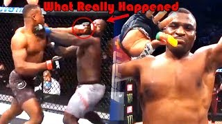 20 SEC KO!!! What Really Happened at UFC 249 (Francis Ngannou vs Jairzinho Rozenstruik)