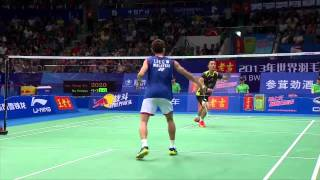 Cover images Highlights: Lee Chong Wei vs Du Pengyu - World Championships
