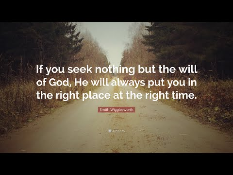 TOP 20 Smith Wigglesworth Quotes