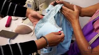Como Aplicar pedraria e customizar vestido de festa