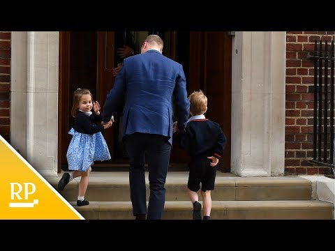 Herzogin Kate bringt drittes Kind zur Welt: Es ist ein Junge