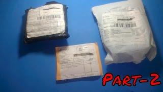 Aliexpress'ten Gelen Toplu Siparişler Paket Açılımı Unboxing Part-2  Yurtdış