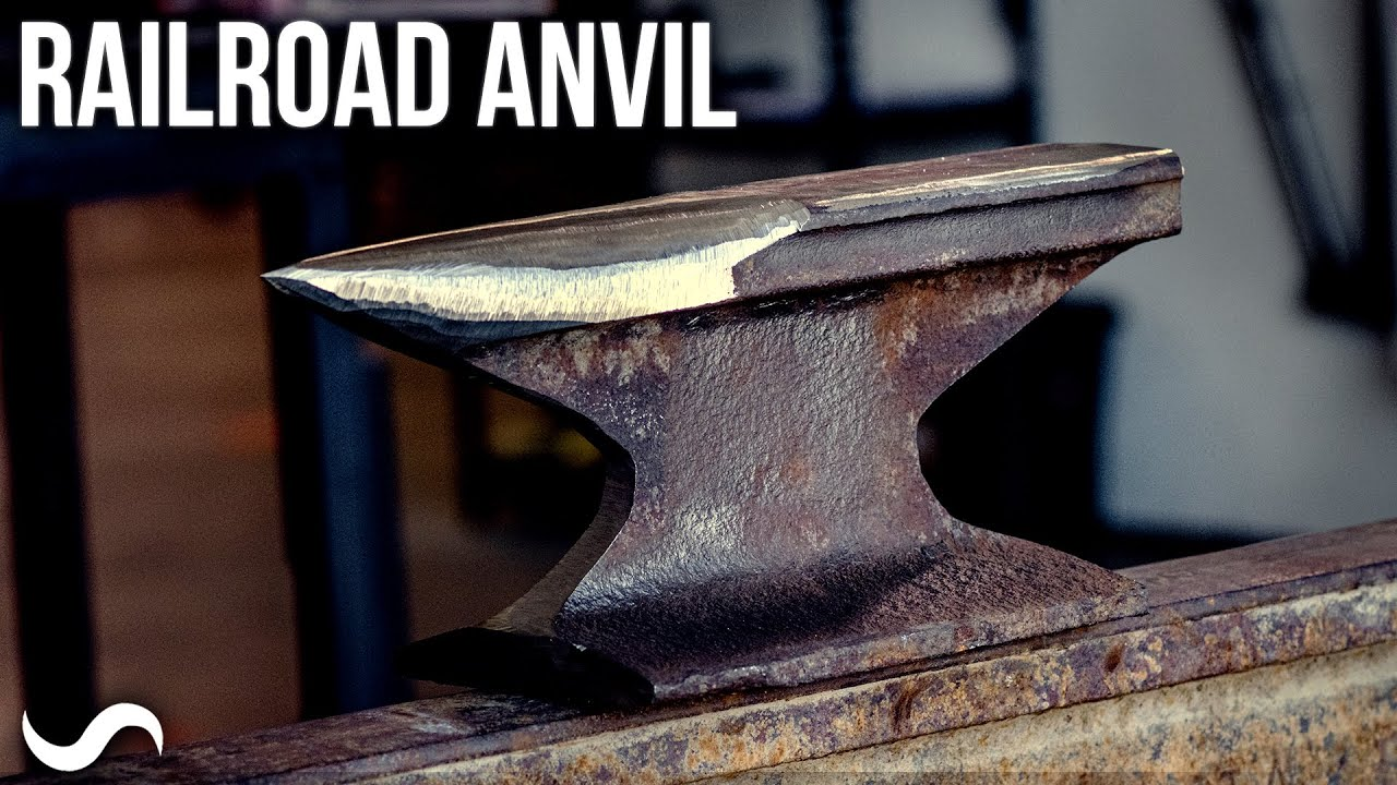 TURNING A RAILROAD TRACK INTO AN ANVIL!!!