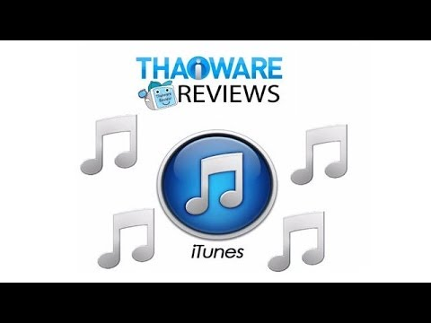 สอนวิธีใช้งาน โปรแกรม iTunes โปรแกรมจัดการไอโฟน (iPhone) ไอแพด (iPad) ไอพอดทัช (iPod Touch)