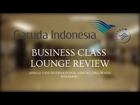 LOUNGE REVIEW - E1 - GARUDA INDONESIA BUSINESS CLASS LOUNGE AT SEMARANG AIRPORT