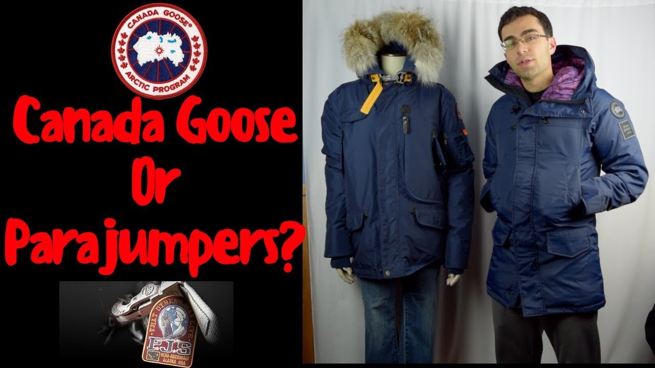 Parjumpers vs Canada Goose Review