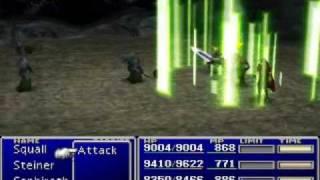 Final Fantasy VII - Rare Enemy Attacks