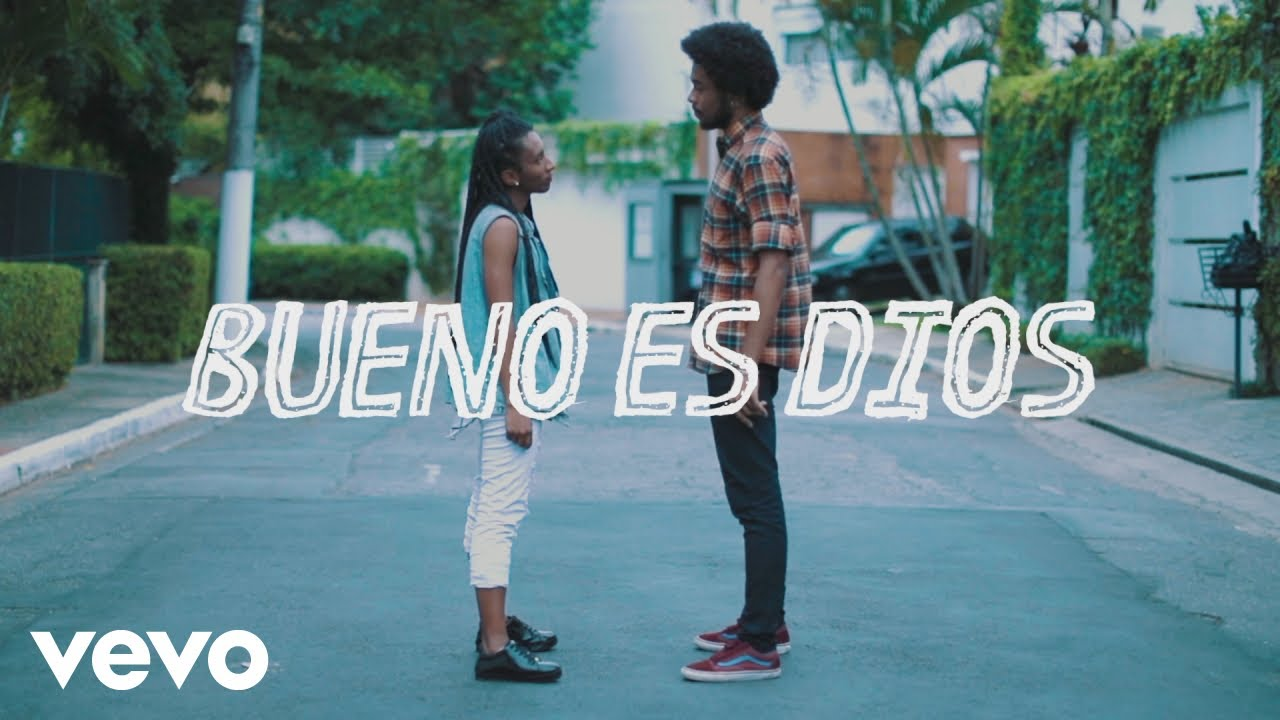 DJ PV - Bueno es Dios (Lyric Video) ft. Julia Vitória