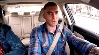 the voice 2015 nissan presents adam and blake commute to work