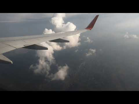 Москва - Нижний Новгород, перелет полностью на Boeing 737, Аэрофлот [4K Ultra HD]