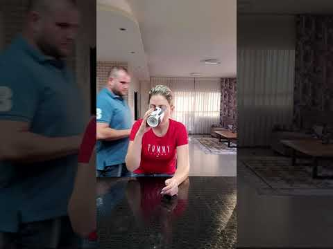 When she eats all your Chips #shorts Funny Prank By TikToMania
