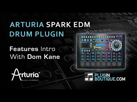 spark plugins visual studio 2012 database diagram arturia edm creative drum machine plugin overview youtube