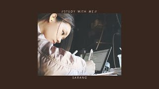 Study With Me [Cafe Background Noise] | 카페에서 같이 공부해요!