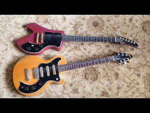 Gibson S1 & Futura - Two Rare & Unusual Norlin Era Guitars