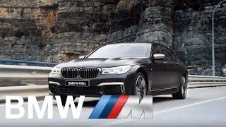 Лицензия пилота не требуется. Новый BMW M760Li.