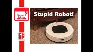Robot Vacuum Problem Solved with 3D Printed Fix