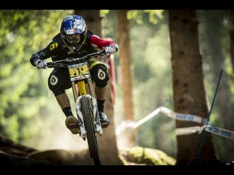 UCI Mountain Bike World Cup 2013 Downhill  Hafjell Norway