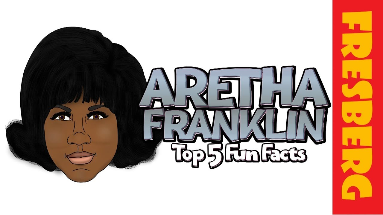 Biography: Aretha Franklin Interesting Facts! | Educational Cartoon for Students | Black History
