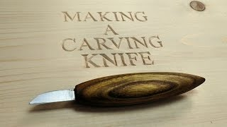 How To Make A Carving Knife From An Old Drill Bit