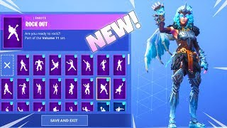 *NEW* LEGENDARY FEMALE RAGNAROK SKIN With 97 DANCE EMOTES (Valkyrie) Fortnite Battle Royale