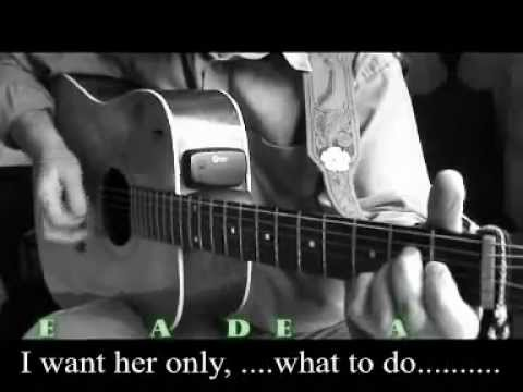 WHAT TO DO (Buddy Holly) Chords & Lyrics