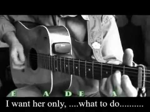 WHAT TO DO (Buddy Holly) Chords & Lyrics - YouTube
