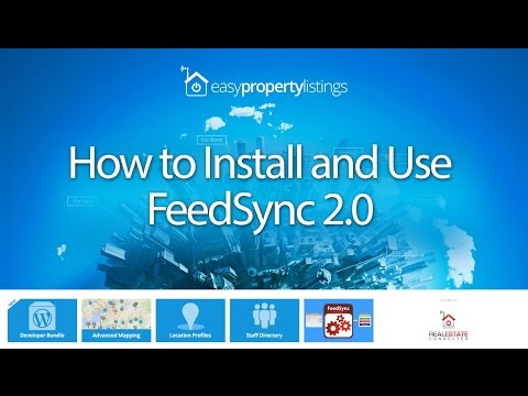 How to Install and Use FeedSync 2.0 to Process REAXML Files