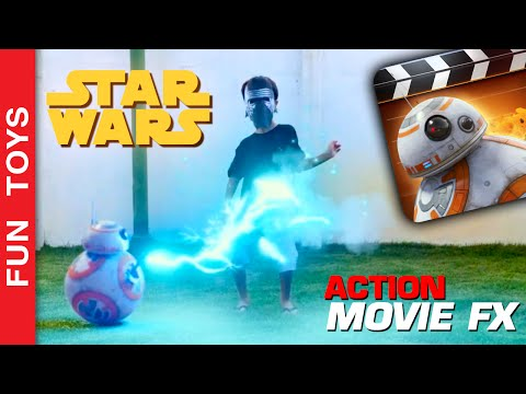 Star Wars  Action Movie FX App  How to create your own Star Wars s  DIY Toys Juguestes BB8