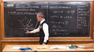 Урок 381. Принцип Гюйгенса. Вывод законов отражения и преломления волн